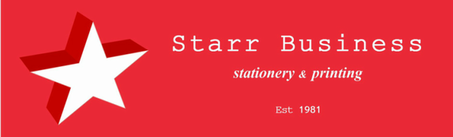 Starr Business​​​stationery & printing